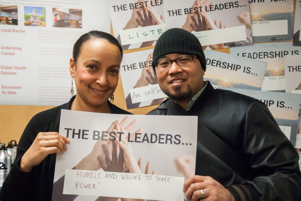 G2L staff member Niesha Brooks and a guest share their thoughts about leadership.